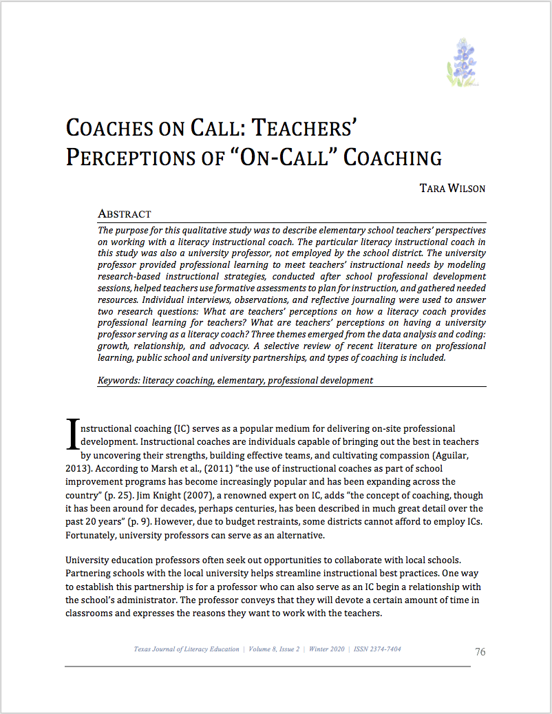 First page Wilson's Coaches on Call article